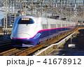 東北新幹線 列車 新幹線の写真 41678912