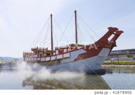 平城宮跡歴史公園の遣唐使船 41679900