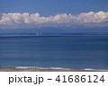 風景 逗子海岸 海の写真 41686124