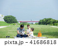 サッカー ピクニック ボールの写真 41686818