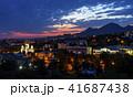 View of the night Pyatigorsk resort. 41687438