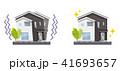 家 住宅 一軒家のイラスト 41693657