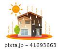 家、一軒家:熱中症、暑い 41693663