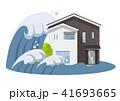 家、一軒家:災害、津波 41693665