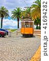 リスボン トラム 電車の写真 41694282