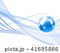 ビジネス グローバル ネットワークのイラスト 41695866