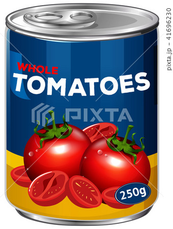 A Can of Whole Tomatoes 41696230