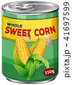 トウモロコシ コーン とうもろこしのイラスト 41697599