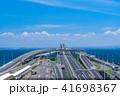 アクアライン 海ほたる 高速道路の写真 41698367
