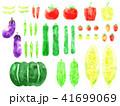 夏野菜のイラスト 41699069