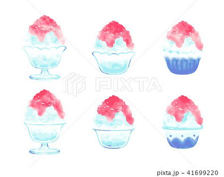 かき氷のイラスト 41699220