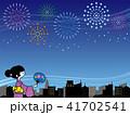 夏祭りと花火大会 41702541