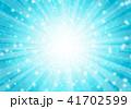 背景 青 放射状のイラスト 41702599