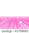 背景 放射状 輝きのイラスト 41709603