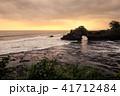 タナロット タナロット寺院 夕焼けの写真 41712484