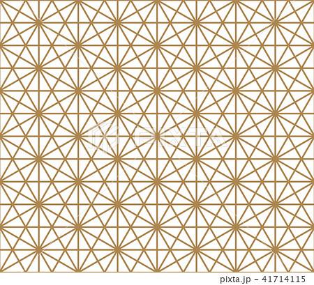 Seamless pattern based on Kumiko pattern 41714115