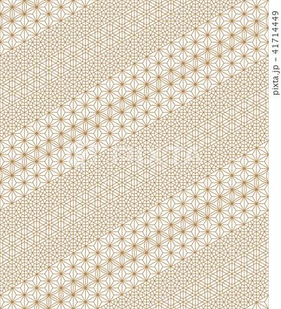 Seamless pattern based Japanese Kumiko ornament 41714449
