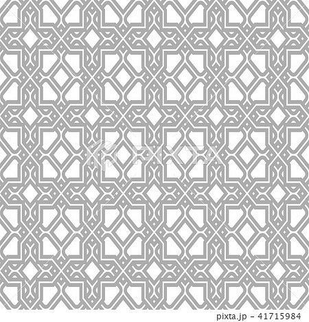 Abstract pattern in Arabian style. Seamless  41715984