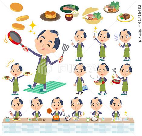 japanese samurai Businessman_cooking 41716482