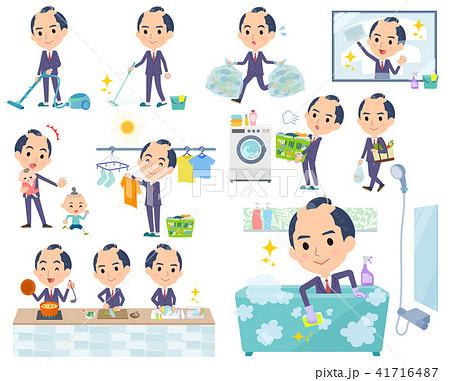 japanese samurai Businessman_housekeeping 41716487