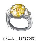 指輪 ベクトル 黄色いのイラスト 41717063