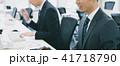 ビジネス ビジネスマン オフィスワークの写真 41718790