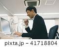 パソコン ビジネス デスクワークの写真 41718804