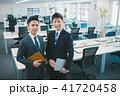 オフィス ビジネス ビジネスマンの写真 41720458