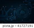 クラウド テクノロジー 通信のイラスト 41727191