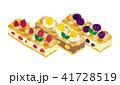 ケーキ スティック スティックケーキのイラスト 41728519