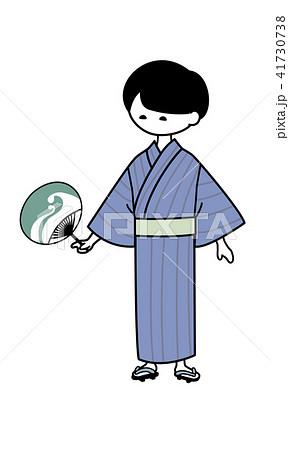 浴衣姿の男性 (1) 41730738
