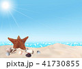 バックグラウンド 背景 海辺のイラスト 41730855