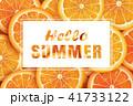 夏 HELLO こんにちのイラスト 41733122