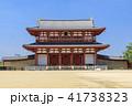 朱雀門 平城京 平城宮跡の写真 41738323