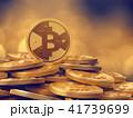 ビットコイン コイン 硬貨のイラスト 41739699