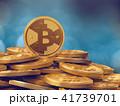 ビットコイン コイン 硬貨のイラスト 41739701