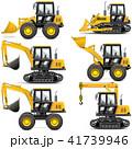 工事 建設 マシンのイラスト 41739946