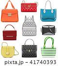 鞄 ハンドバッグ 手提げのイラスト 41740393