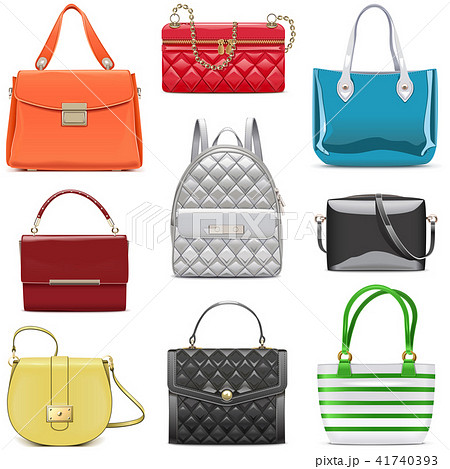 Vector Fashion Female Handbags 41740393