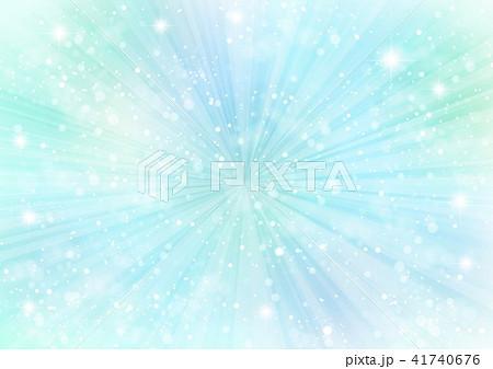 緑キラキラ背景 41740676