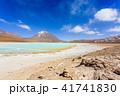 ボリビア ラグーナ・ベルデ 緑の写真 41741830