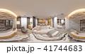 3d illustration interior design spherical 360 seamless panorama  41744683