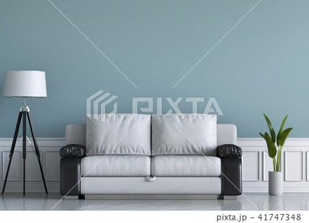 Living room interior in modern style, 3d render 41747348