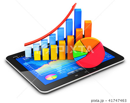 Business finance accounting and statistics concept 41747463