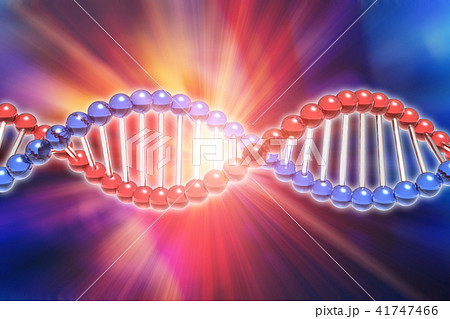DNA genetic research science concept 41747466