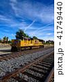 列車 機関車 カリフォルニアの写真 41749440