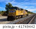 列車 機関車 カリフォルニアの写真 41749442