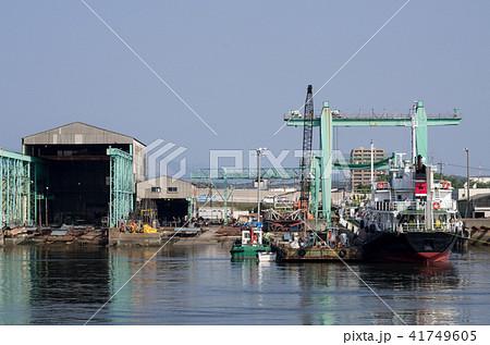 小さな造船所の景色 41749605