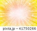 放射状 背景 フレームのイラスト 41750266