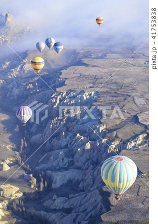 カッパドキアと気球 41753838